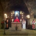 """Cathédrale de Chartres, """"Notre Dame de Sous Terre"""", célébration oecuménique (catholique - orthodoxe) Artisans de Paix le 3 mai 2013"""