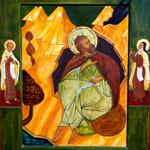 Sainte Thérèse d'Avila et saint Jean de la Croix, disciples du prophète Elie