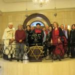 Rencontre avec le rabbin Rav Naftali Haleva, à la synagogue d'Ortaköy