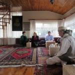 Rencontre dans la maison de la Sheikha Nur Artiran, avec frère Alberto Fabio Ambrosio op.