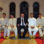 Première Rencontre Interreligieuse de Prières le 27 mai 2009 à la Chapelle du Saint-Sacrement