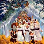 Traversée de la mer rouge par le peuple hébreu