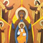 Marie, protectrice des Chrétiens d'Orient, patronne du Liban rassemblant Chrétiens et Musulmans en prière pour la paix