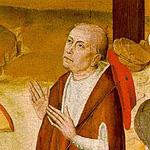 Nicolas de Cues (1401-1464), prélat, savant, mathématicien, scientifique et philosophe allemand, auteur de La docte ignorance